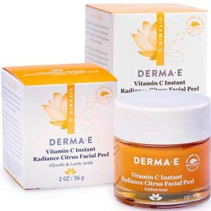 Free Derma E Vitamin C Instant Radiance Citrus Facial Peel Samples