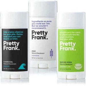 Free Pretty Frank Deodorant Samples