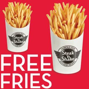 Free Steak 'n Shake Fries