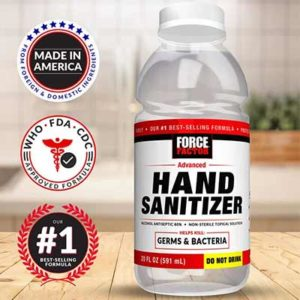 Free Force Factor Hand Sanitizer