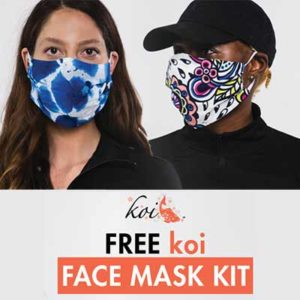 Free Koi Face Mask Kit