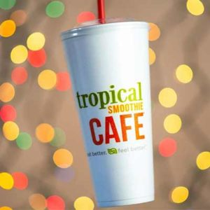 Free Smoothies From Tropical Smoothie Cafe
