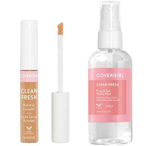 Free Covergirl Clean Fresh Setting Spray & Concealer