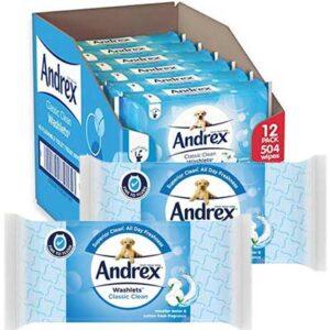 Free Flushable Andrex Washlets