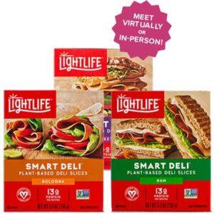 Free Lightlife Smart Deli Plant-Based Lunchmeat