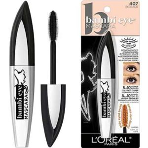 Free L'Oreal Paris Bambi Eye Extra Noir Washable Mascara