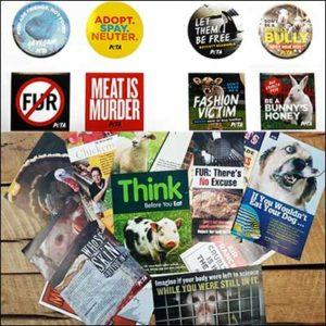 Free PETA Activist Starter Pack