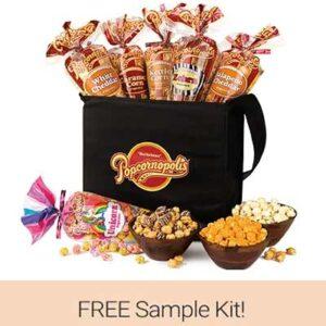 Free Popcorn Sample Kit