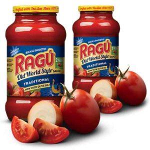 Free RAGÚ Old World Style Sauce