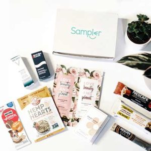Free Sample Box From Sampler