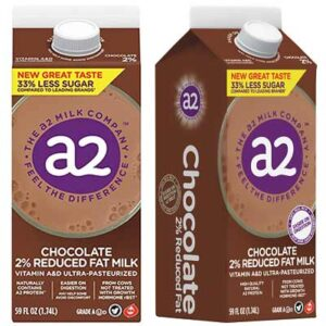 Free a2 Milk Chocolate 2% Reduced Fat