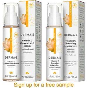 Free Derma E Vitamin C Serum & Moisturizer