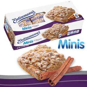 Free Entenmann's Mini Crumb Cake