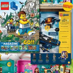 Free Lego Life Magazine (Issue 3 2020)