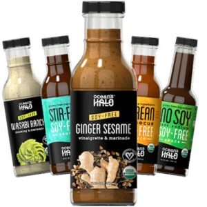 Free Ocean's Halo Organic Soy-Free Dressing