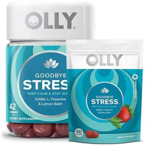 Free Olly Goodbye Stress Gummies