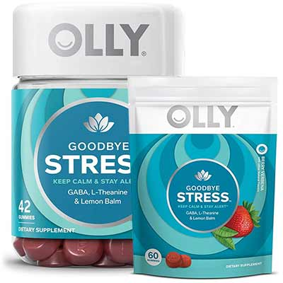 Free Olly Goodbye Stress Gummies Freebies Lovers