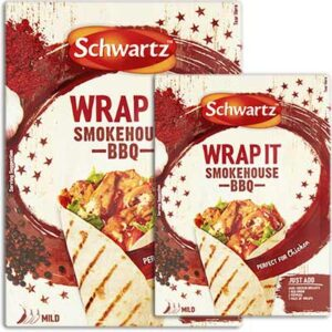 Free Schwartz Wrap It smokehouse BBQ Recipe Mix