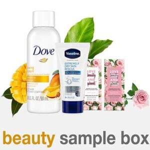 Free Unilever Beauty Sample Box