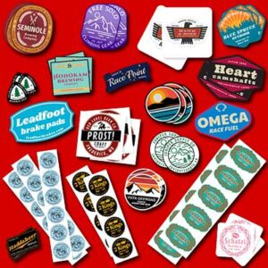 Free Comgraphx Sticker Sample Pack