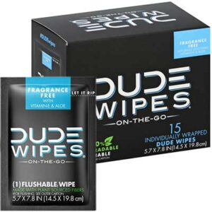 Free DUDE Wipes