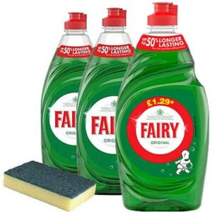 Free Fairy Original Washing Up Liquid Bottle