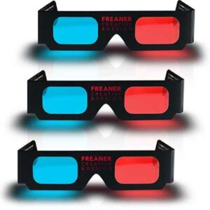 Free Freaner Creative 3D Glasses