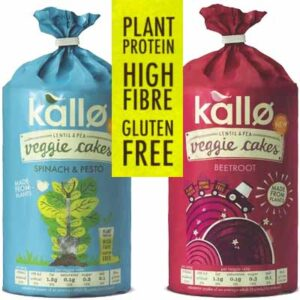 Free Kallo Veggie Cake Samples
