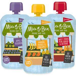 Free Mia & Ben Organic Pouches