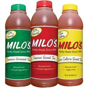 Free Milo's Tea Bottle