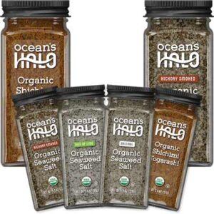 Free Ocean's Halo Organic Seasoning