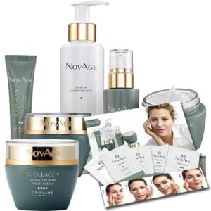 Free Oriflame NovAge Ecollagen Wrinkle Power Sample Pack