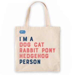Free RSPCA Tote Bag