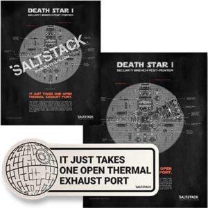 Free SaltStack Death Star Poster