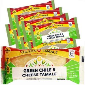 Free Tucson Tamale Green Chile & Cheese Tamale