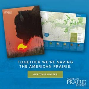 Free American Prairie Reserve Poster Map