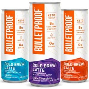 Free Bulletproof Cold Brew Lattes