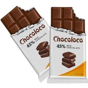 Free Chocoloco Milk Chocolate Bar