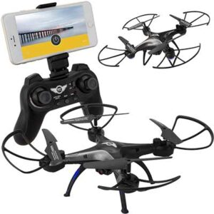 Free Dpi Sky Rider Drone with Wi-Fi Camera