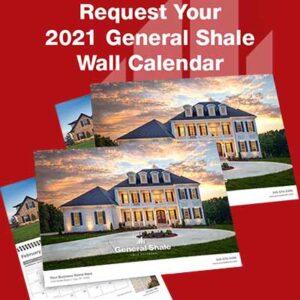 Free General Shale 2021 Wall Calendar