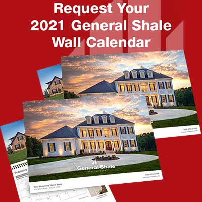 Free General Shale 2021 Wall Calendar - Freebies Lovers