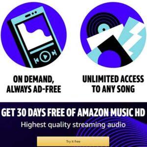 Free HD Music at Amazon