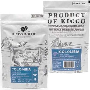 Free Kicco Koffie CBD Infused Coffee