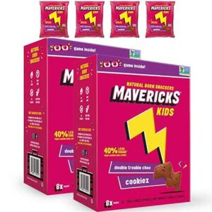 Free Mavericks Snacks Double Trouble Choc Cookiez