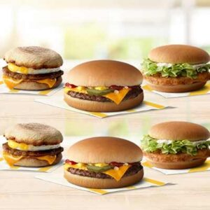 Free Sandwich at McDonald's