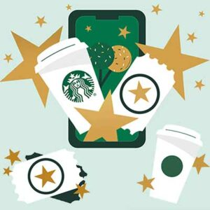 Free Starbucks Drinks, Food & Bonus Stars