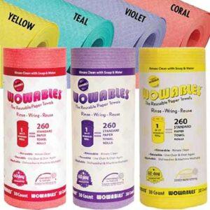Free Wowables Reusable Paper Towel Sheet