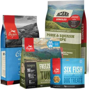 Free ACANA & ORIJEN Pet Food Sample