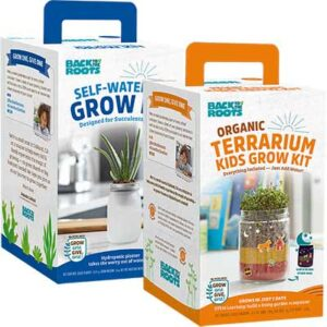 Free Back to the Roots Self-Watering Grow and Terrarium Grow Kits