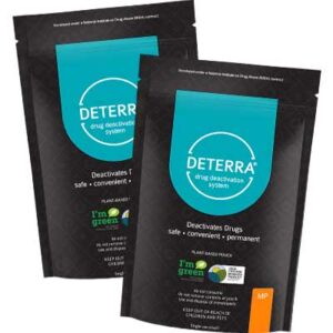 Free Deterra Drug Deactivation and Disposal Pouche